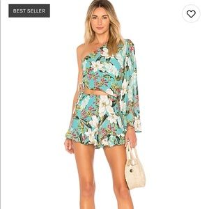 Lovers + friends Maya romper brand new with Tags